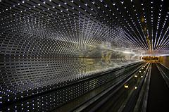 Multiverse by Leo Villareal (2005). Fotografia de Ján Morovic