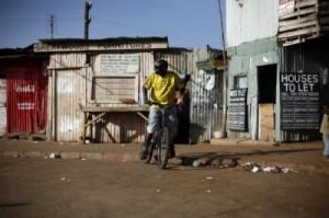 Slum Kibera (Kenya)