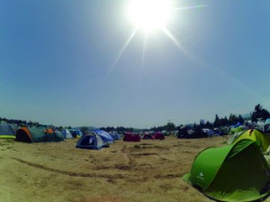 Camp d'Idomeni amb gairebé 10.000 famílies