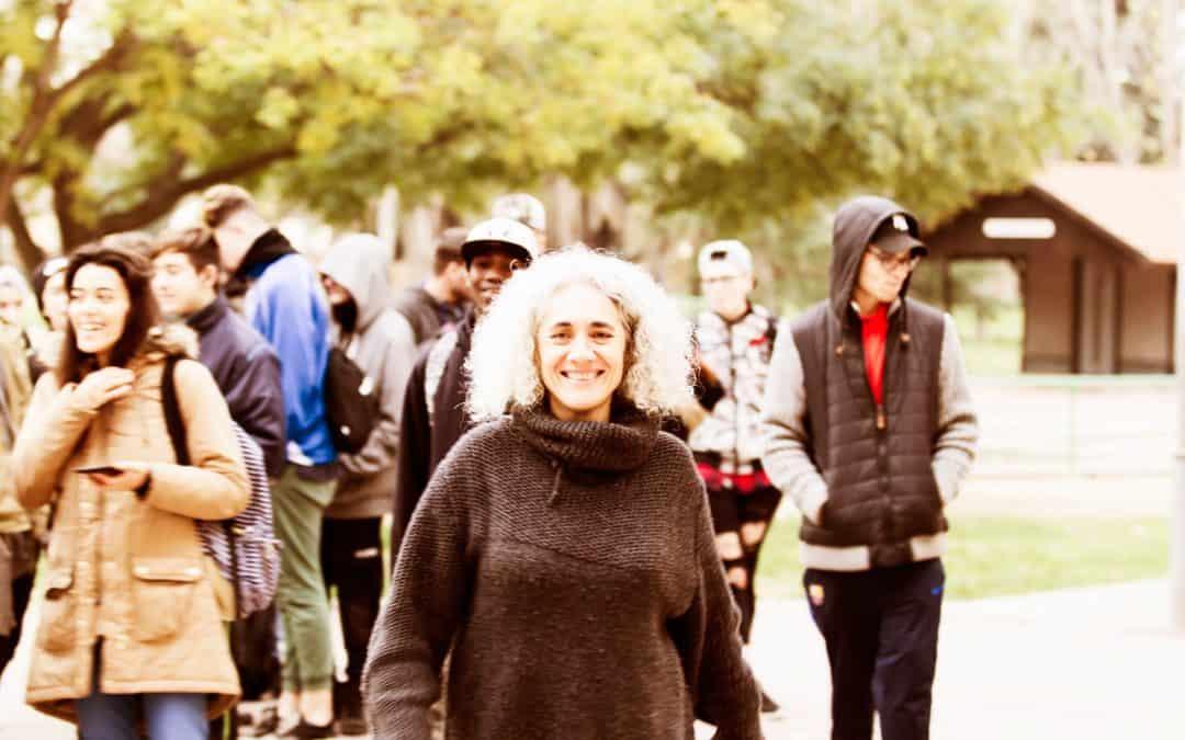 Begonya Gasch: mirar i actuar des del llindar