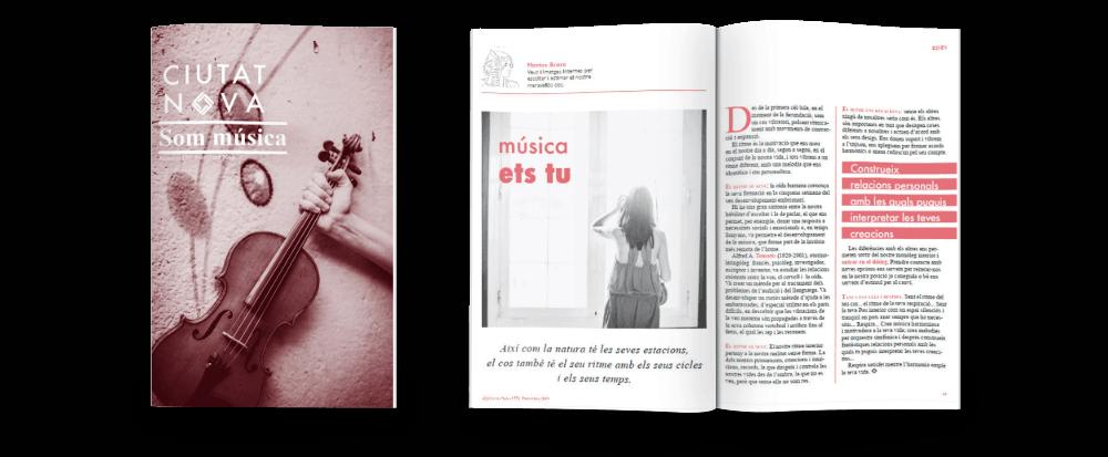 Subscriu-te a la revista Ciutat Nova!